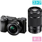 Store Mirrorless Slr Camera Sony 6400 Ilce-6400y Double Zoom Lens Kit Black