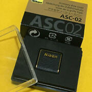 Nikon Discontinued Accessories Shoe Cover Leather Asc-02 [new]