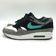 Nike Air Max 1 Atmos Cement Elephant 908366 001 Us 9.5 With Box