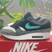Nike Air Max 1 Atmos Cement Elephant 908366 001 Us 10 With Box