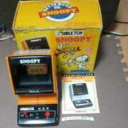 Rare Nintendo Game Watch Table Top Snoopy Current Sales Showa Retro