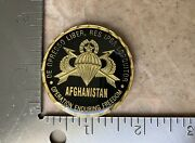 Operation Enduring Freedom Afghanistan Fob 191 Cjsotf Challenge Coin
