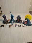 Nightmare Before Christmas Hawthorne Village 2005 Collectibles Lot Of 13 As Is