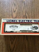 1983 Lionel 6-9834 Southern Comfort Whiskey Reefer Billboard Boxcar W/ Box.