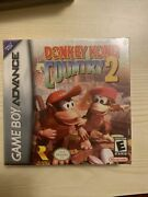 Donkey Kong Country 2 Nintendo Game Boy Advance 2004sealed With Game Protector