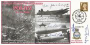 617 Sqn Attack On The Oil Refineries Politz Signed 9 Members Of 617 Sqn 21 Dec