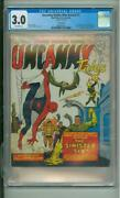 Amazing Spider-man Annual 1 Cgc 3.0 1st App Of The Sinister Six Uk Edition 1960