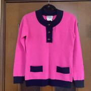 Cashmere Sweater 40 From Japan Fedex No.5912