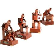 Luban Woodworking Robot Four Piece Set Of Solid Wood Intelligent Craft Home