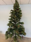Balsam Hill Woodland Spruce 9 Ft Christmas Tree Multicolored Led Open 1799