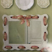 Southern Living Home Cottage Farmhouse Set Mirror Tray Trash Bin Baby Child New