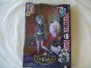 2012 Monster High Doll = 13 Wishes = Twyla And Bunny = New In Box