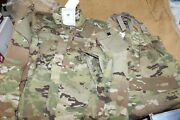 New Soft Shell Jacket And Trousers W/suspenders Cold Weather Multicam Med-reg