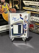 Zach Wilson 2021 Immaculate Collegiate Rpa On Card Auto 04/25 Byu - Jets