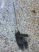 Mercury 4hp 20 Inch Lower Unit From 1974 Rusty Drive Shaft Parts Or Repair