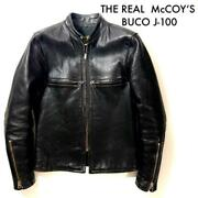 Buco J-100 Horse Hide Riders Jacket The Real Mccoyandlsquos Size 34