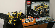 Lego Technic 8265 Front Loader + Power Functions 8293 Instructions Boxes Rare