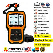 Ad410 Obd2 Scanner Code Reader Car Diagnostic Scan Tool Check Engine Clear Code