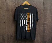 Vintage Usa Airedale Terrier Silhouette American Flag Dog Lover T-shirt