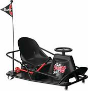 Razor Crazy Cart Xl 36v Electric Drifting Go Kart - Variable Speed Up To 14 Mph