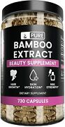 Extract 730 Capsules 70 Silica Non Gmo And Gluten Free 750 Mg Serving New