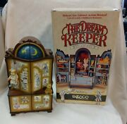 Vintage Enesco The Dream Keeper Lighted Animated Music Box 1989 W Box And Cord