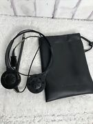 Plantronics Hw261n Wired Office Headset With Drawstring Bag Tested Works