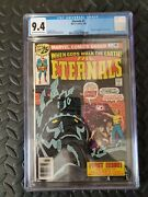The Eternals 1 Cgc 9.4- Origin And 1st Appearance The Eternals 7/76 Mcu
