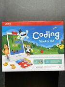 A8 Osmo Coding Starter Kit For Ipad, 3 Stem Learning Games Toy - Sealed