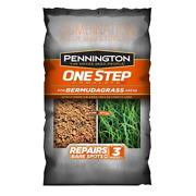 8.3lb One Step Complete For Bermudagrass Areas W/mulch Grass Seed Fertilizer Mix