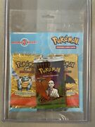 Pokemon Blister Booster Pack Gym Challenge 2x Expedition Charizard Blastoise