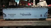 Ho Athearn Big Tall Covered Hopper Car Repainted Rio Grande Action Road Dandrgw