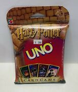 2000 Harry Potter Uno Card Game By Mattel- All Cards Included Complete