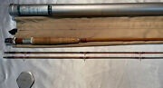 Orvis Impregnated Midge Bamboo Fly Rod. 7andrsquo6andrdquo 4/5wt. W/ Tube And Sock.