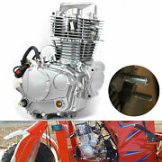 350cc Single-cylinder Motorcycle Engine 4 Stroke Water-cooled Kick Start Durable