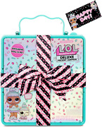 Lol Surprise Deluxe Present Surprise With Limited Edition Doll And Pet Teal -