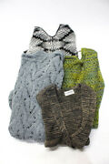 Nvelop Sigrid Olsen Andrea Jovine Womens Cardigans Sweaters Gray Size M Lot 4