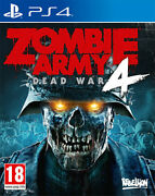 Zombie Army 4 Dead War Ps4 Playstation 4 Sold Out Publishing