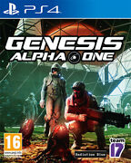 Genesis Alpha One Ps4 Playstation 4 Sold Out Publishing