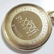 Tokyo 2020 Olympic Emblem Commemorative Engraved Key Chain With Opening Ceremony