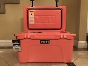 Yeti Tundra 45 Coral Cooler - Brand New - Limited Edition - Discontinued Color