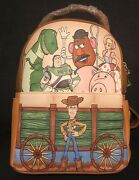 Loungefly Pixar Toy Story 25th Anniversary Mini Backpack Nwt Rare Flaw