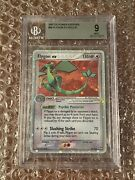 Bgs 9 Flygon Ex Holo Rare Ex Power Keepers 2007 Pokemon Card 94