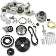 Holley 20-182 Ls Premium Mid-mount Race Accessory Drive Kit Fits All Ls Engines