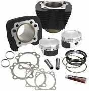 Sands Cycle Cylinder And Piston Conversion Kit - Black Wrinkle - 910-0296