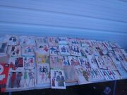 Vintage 1940and039s-1960and039s Sewing Patterns Mixed Lot Of 51 Pcs. Simplicity Mccalls