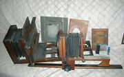 Antique Studio Us Made Camera And Accesories Goerz Dogmar Lense - Best Offer