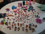 Lol Surprise Dolls Big Sister Baby Sister Lot Of Toys Accessories And More