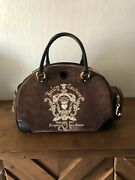 Vintage Juicy Couture Doggy Couture Dog Pet Carrier Bag Love Gandp 17andrdquo Rare