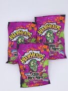 Warheads Sour Body Parts Gummy Candy Halloween 3.75 Oz Lot Of 3 Bags